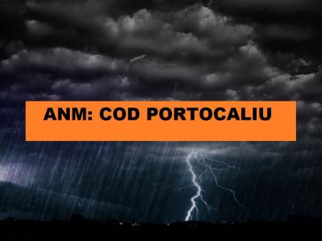 ANM a emis Cod Portocaliu de averse torențiale în România! În ce zone e prăpăd!
