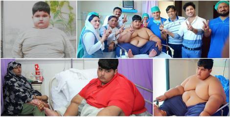 """Are 10 ani și 200 de kilograme. """"Cel mai gras copil din lume"""" se luptă pentru a deveni un om normal"""
