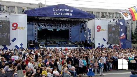 Ziua Europei sau Ziua Victoriei? Cu vodcă și terci, moldovenii sărbătoresc ce vor ei