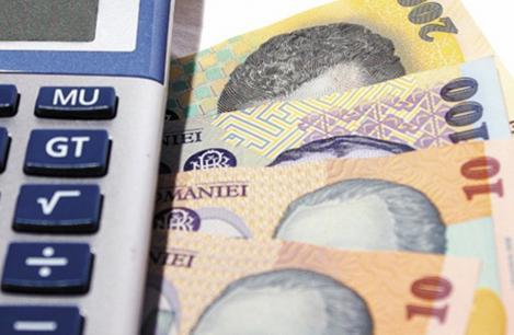 Castigul salarial mediu net a urcat la 3.115 lei, in aprilie