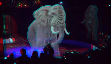 VIDEO-Animalele de la circ sunt înlocuite de holograme!