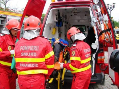 A ars de vie după o explozie și i-au cerut să plătească benzina și vinieta ambulanței către un spital din Viena! Explicația autorităților române