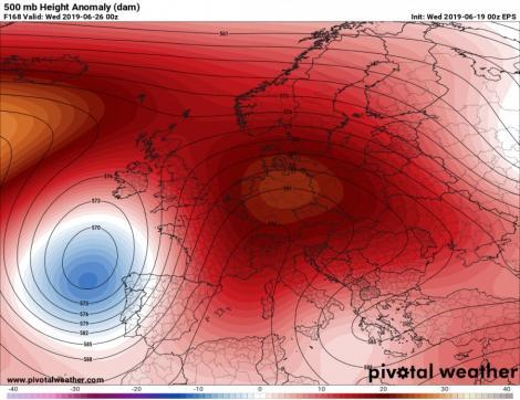 Val de caniculă peste Europa! Vremea devine severă, temperaturi de 40 de grade
