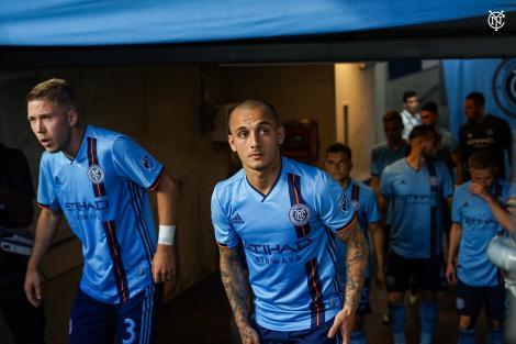 Mitriţă a marcat din nou pentru New York City FC; Echipa sa a ajuns în sferturile Cupei US Open