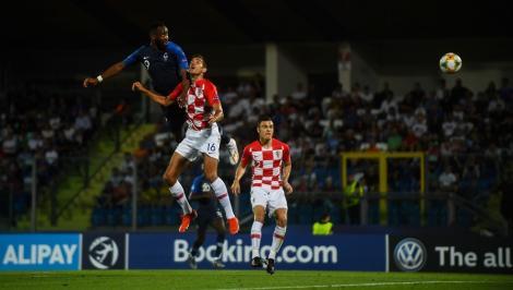 CE U21: Franţa a învins cu 1-0 Croaţia. România şi francezii - câte şase puncte, englezii şi croaţii - eliminaţi