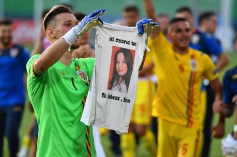 """Sora lui Ionuț Radu, căpitanul României U21, a murit când el avea nouă ani: """"I-am promis că o duc pe toate stadioanele lumii!"""""""