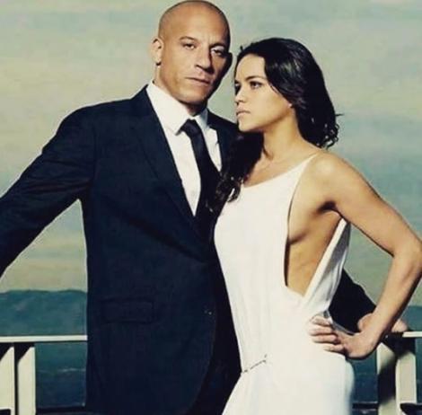 """Fanii sunt fericiti! Vin Diesel şi Michelle Rodriguez au anunţat debutul filmărilor la """"Fast and Furious 9"""""""