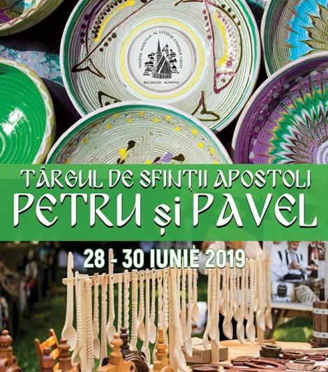 """Târgul de Sfinţii """"Petru şi Pavel"""" la Muzeul Satului. Expoziţii, film documentar şi concerte, între 28 şi 30 iunie"""