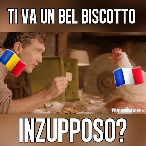 """Fanii italieni, bucuroşi că echipele care au făcut """"biscotto"""", România şi Franţa, au fost eliminate din semifinelele CE"""