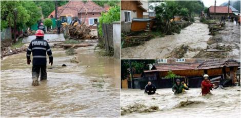 Ajutoare de urgență pentru românii afectați de inundațiile din acest an. Ce sume se vor acorda, în funcție de pagubele suferite