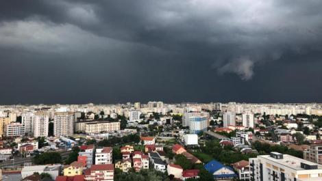 Vremea în București 4 iunie. ANM prelungește prognoza de ploi și furtuni
