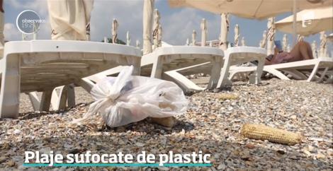 Vara a început, dar litoralul e plin de gunoaie. Un ONG a făcut topul celor mai murdare plaje din România
