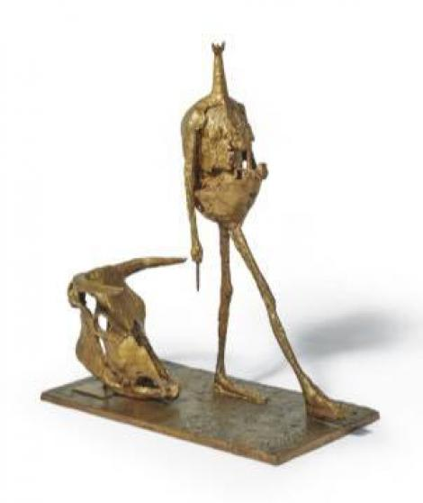 Colecţia Aznavour - O sculptură din bronz de Germaine Richier, adjudecată contra sumei de 2,11 milioane de euro