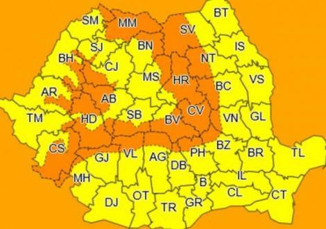 ANM, prognoză meteo actualizată până pe 8 iulie 2019: temperaturi de 31 grade C