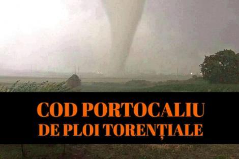 Alertă! Ploi torențiale și grindină în București! Când începe potopul în Capitală