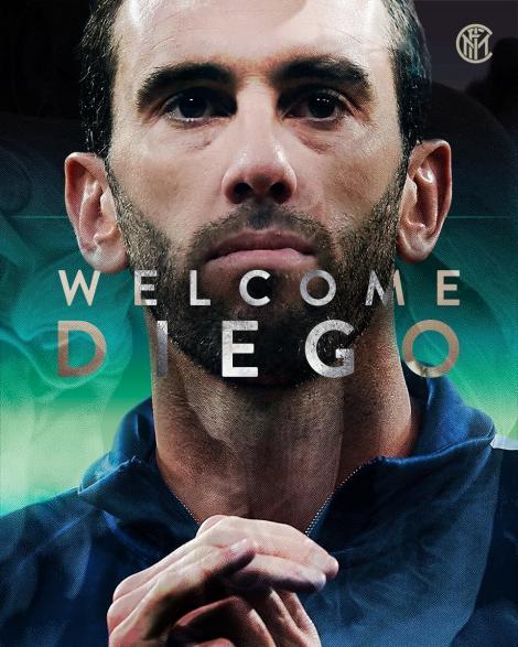 Inter Milano a anunţat că l-a achiziționat pe uruguayanul Diego Godin