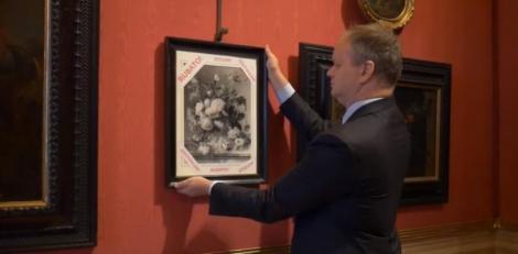 Germania va înapoia Galeriilor Uffizi un tablou de Jan van Huysum furat de nazişti în timpul războiului
