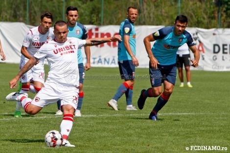 Dinamo a remizat, 2-2, într-un amical cu Chindia Târgovişte