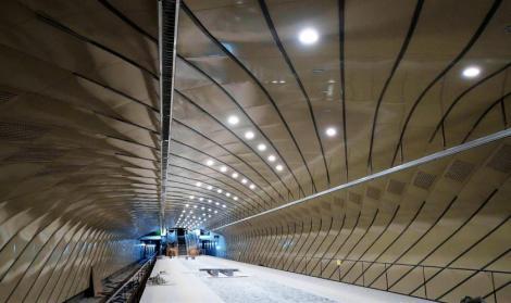 Moderne, mari, spectaculoase. Cum arată stațiile magistralei de metrou din Drumul Taberei. Video