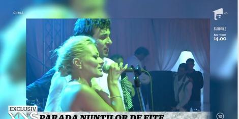Xtra Night Show.Imagini nemaivăzute de la nunta Deliei cu Răzvan Munteanu! Cum a petrecut cântăreața până în zorii zilei