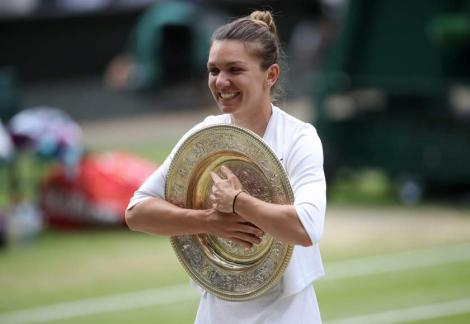 Simona Halep este campioană la Wimbledon! Românca a învins-o pe Serena Williams și scrie istorie pentru România