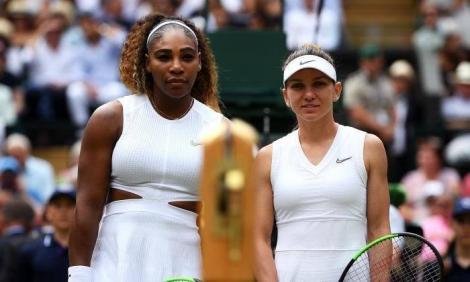 """Serena Williams, după înfrângerea suferită la Wimbledon: """"Simona Halep a jucat excepţional. Jos pălăria!"""""""