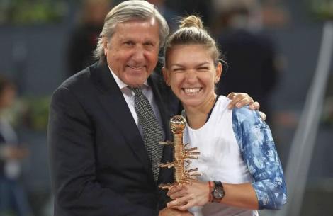 Ilie Năstase: E cel mai istoric rezultat al tenisului românesc. Dar în primul rând este meritul ei, nu e meritul României
