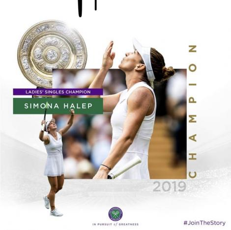 Site Wimbledon: Halep a uluit-o pe Serena Williams, a uluit publicul de pe terenul central şi aproape toată lumea de pe Planeta Tenis
