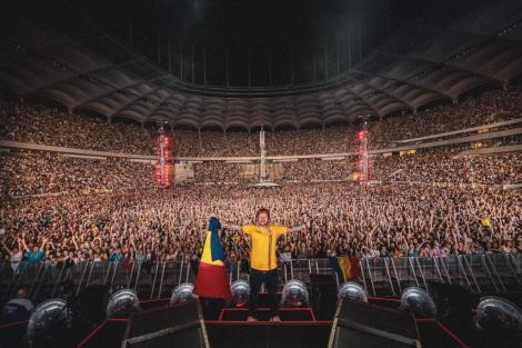 A petrecut trei zile în România! Ed Sheeran, impresionat de ciolanul românesc și varza călită