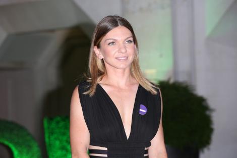 Simona Halep, apariție răvășitoare la Londra, la Gala Wimledon! Decolteul adânc purtat de sportivă a atras privirile celor din jur