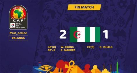 Algeria s-a calificat în finala Cupei Africii pe Naţiuni cu un gol marcat în minutul 90+5