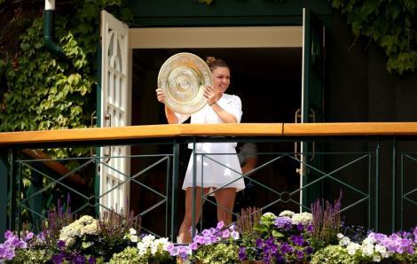 Imagini de colecție cu Simona Halep, la Wimbledon 2019. Azi, Simona se întoarce acasă