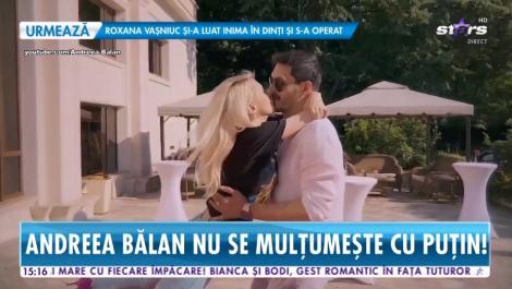 Primele imagini cu Andreea Bălan în rochie de mireasă! Artista va schimba trei ținute în ziua nunții