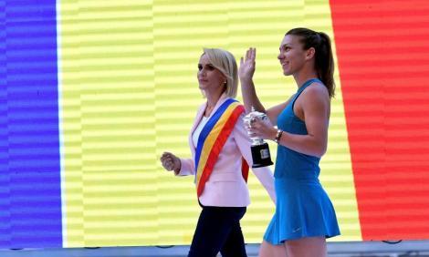 Simona Halep își prezintă trofeul pe Arena Națională! Gabriela Firea a anunțat ce va face la momentul evenimentului