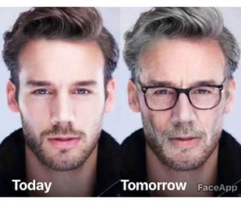 """Dezvoltatorii aplicației FaceApp, prin care utilizatorii se pot vedea """"bătrâni"""", au recunoscut! Ce riscă cei care o folosesc"""