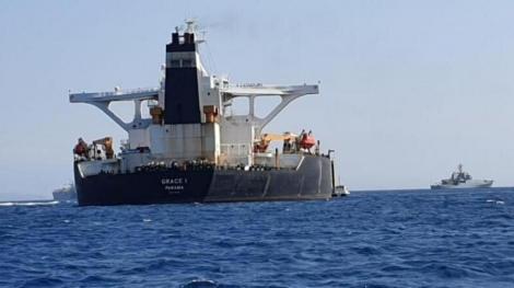 Gibraltarul prelungeşte cu 30 de zile imobilizarea petrolierului cu ţiţei iranian Grace 1