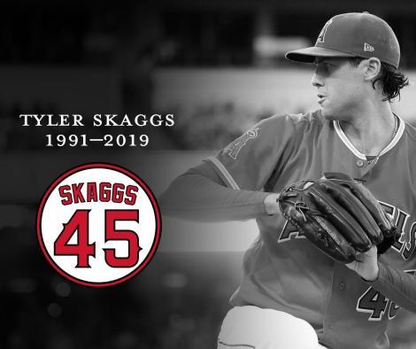 Jucătorul de baseball american Tyler Skaggs a fost găsit mort în camera de hotel înaintea unui meci