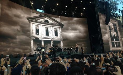 """Bon Jovi, final de turneu european la Bucureşti: """"Îmi pare rău că nu am fost chiar pe ritm"""""""
