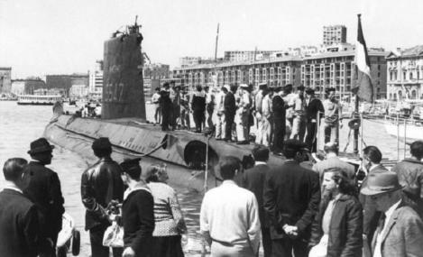 Submarinul francez La Minerve, dat dispărut acum 50 de ani, a fost găsit în largul oraşului Toulon