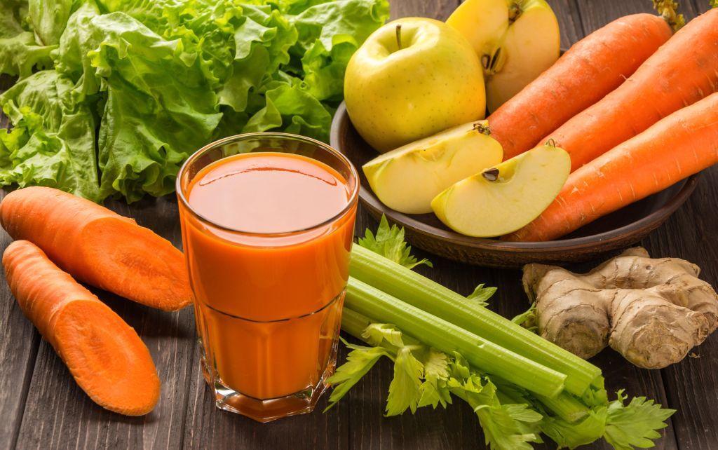 cura de slabire cu mere si morcovi