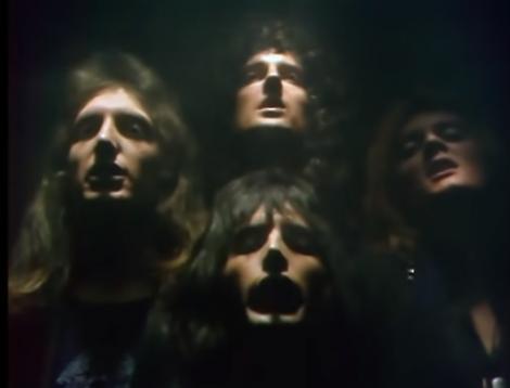 """Melodia """"Bohemian Rhapsody"""" a formaţiei Queen a devenit primul videoclip vechi cu peste un miliard de vizualizări pe YouTube"""