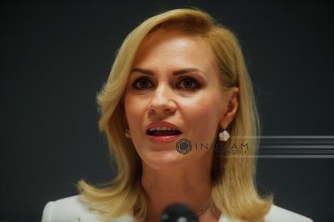 """Gabriela Firea, după şedinţa CEx: """"Cu siguranţă voi candida la Primăria Capitalei"""""""