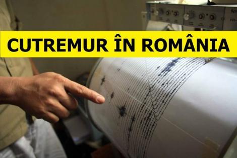 Cutremur în România, miercuri dimineață