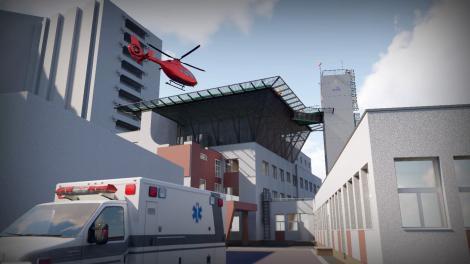 Spitalul Universitar de Urgenţă Bucureşti va avea un heliport de 800.000 de euro, funcţional din această toamnă