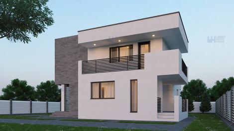 Modele de case cu design atrăgător