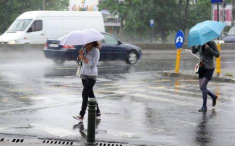 Vremea București 29 iulie. Ploi torențiale și descărcări electrice, vremea pe ore