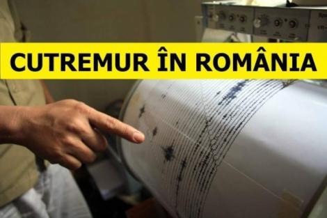 Cutremur în România!  A depășit 3 grade pe scara Richter