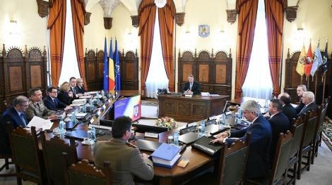 CSAT a aprobat forţele armate care pot participa la misiuni în afara ţării în anul 2020