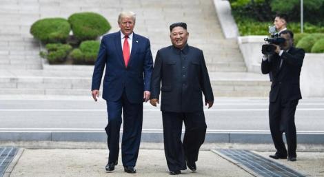 Coreea de Nord acuză SUA că sunt determinate să impună sancţiuni în pofida discuţiilor dintre Dolnald Trump şi Kim Jong-un