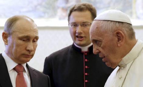 Vladimir Putin vizitează Roma pentru îmbunătăţirea relaţiilor Rusiei cu Italia. Va avea întâlnire și cu Papa Francisc